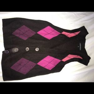 Express sweater vest